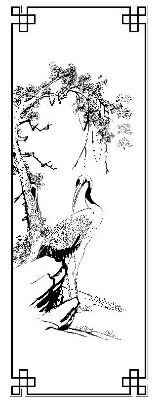 关于陈村的手绘画