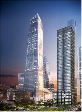 兴澄特钢高建钢架起纽约曼哈顿新地标