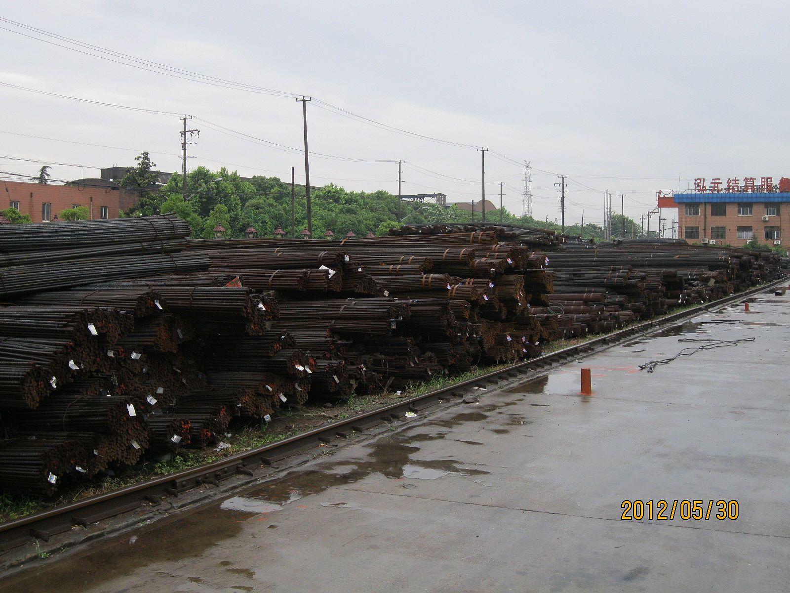 上海地区/A仓库:螺纹的量本周增加了,增加的量大概有640吨左右,总体...