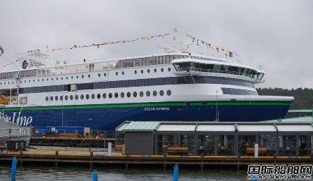 全球最大插电式混合动力客滚船命名